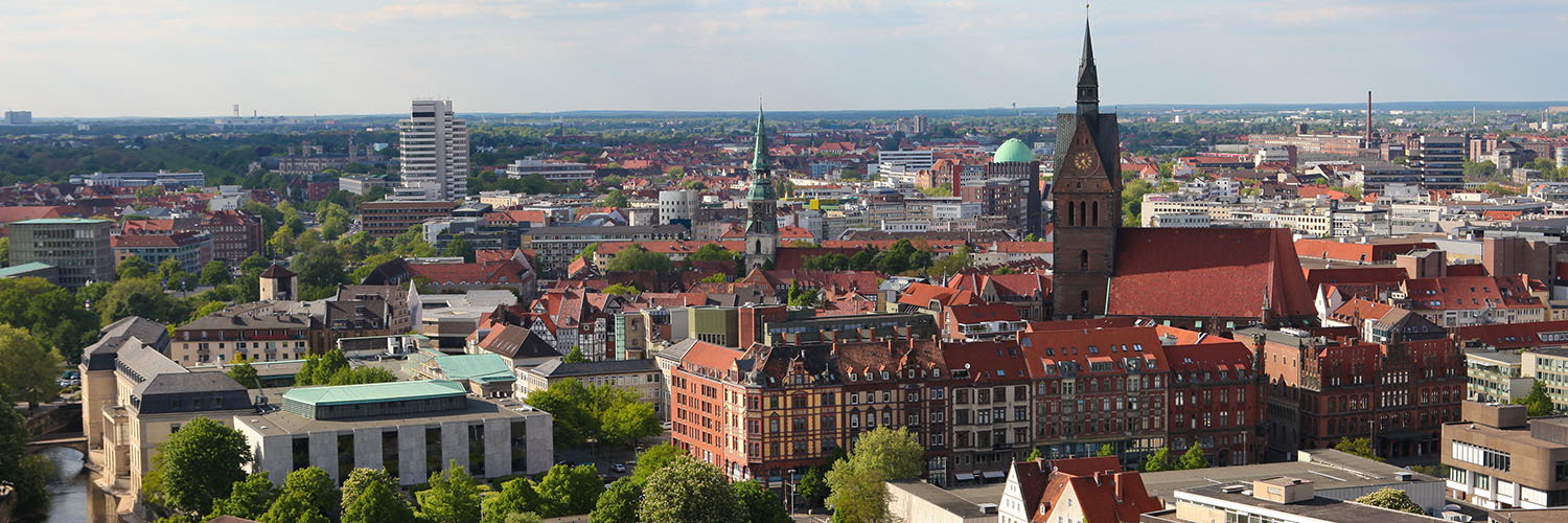 Panorama Blick Hannover